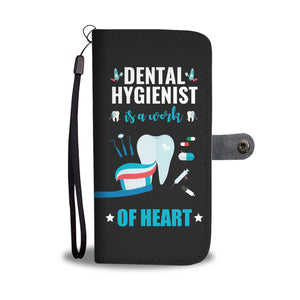 Dental Hygienist Phone Wallet Case