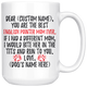 Personalized Best English Pointer Mom Coffee Mug (15 oz)