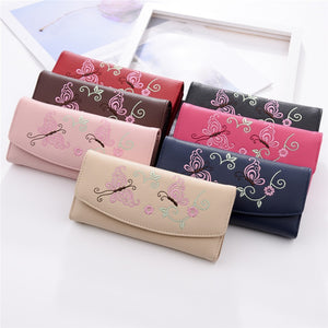 Colorful Butterfly Wallet - Freedom Look