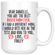 Personalized Boxer Dog Mom Danielle Coffee Mug (15 oz)