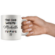 The One Where Michelle Turns 77 Coffee Mug, 77th Birthday Mug, 77 Years Old Mug (11 oz)