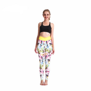 3D Sexy Butterly Pattern Leggings - Freedom Look