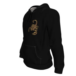 Born In November Scorpio Hoodie For Men (Small Scorpion) - Freedom Look