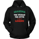 Grandma The Woman The Myth The Legend Unisex Hoodie