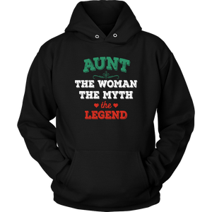 Aunt The Woman The Myth The Legend Unisex Hoodie - Freedom Look