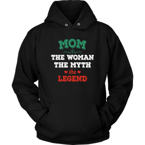 Mom The Woman The Myth The Legend Unisex Hoodie