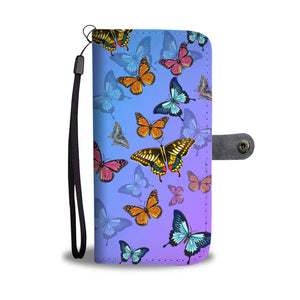 Amazing Butterflies Phone Case & Wallet - Freedom Look