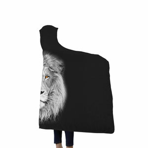 Lion Hooded Blanket - Freedom Look