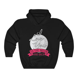 I Love You To The Moon & Back Wife Girlfriend Partners My Soulmate Hoodie