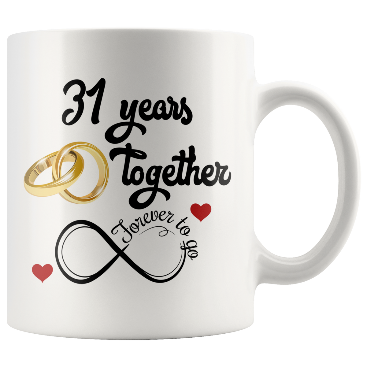 3 Wedding Anniversary Gift: 31st Wedding Anniversary Gift For Him And Her, Married For