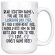 Personalized Best Labrador Dad Coffee Mug (15 oz)