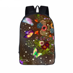 Beautiful Butterfly Flower Backpack Designs - Freedom Look