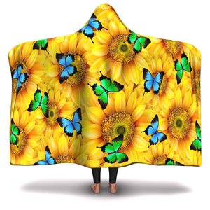 Sunflower Hooded Blanket (SB)