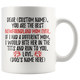 Personalized Best Newfoundland Mom Coffee Mug (11 oz)