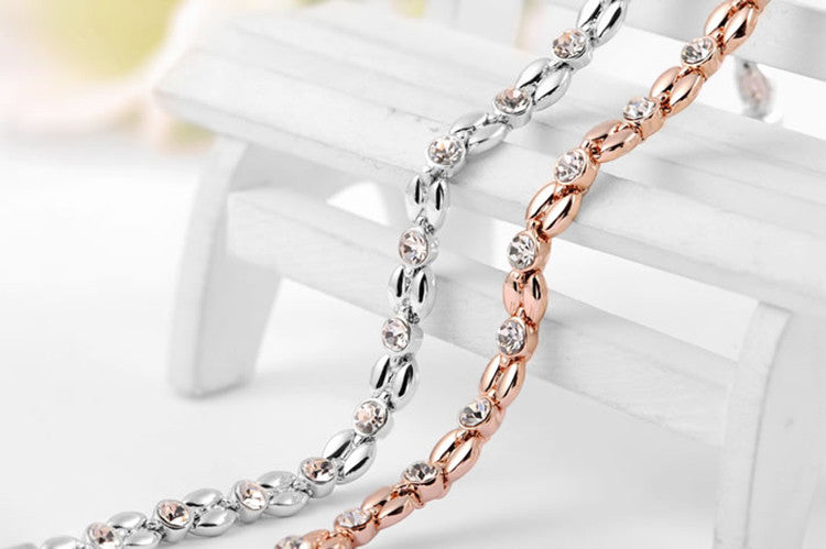 HighQuality Rose Gold Silver Color Bracelet Freedom Look