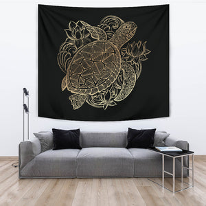 Sea Turtle Tapestry - Living Room Bedroom Art Wall Decor Birthday Gift