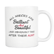 My Favorite Niece Mug - Bae Mug Best Auntie Ever - Worlds Best Niece Mug - Funny Auntie Mugs - Brilliant And Beautiful Niece (11 oz)