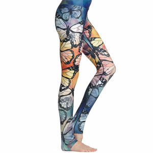 High Quality Butterfly 3D Leggings - Freedom Look