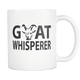 Goat Whisperer Coffee Mug - Goat Owner Gifts - I Like Goats - Great Goat Gift (11 oz) - Freedom Look