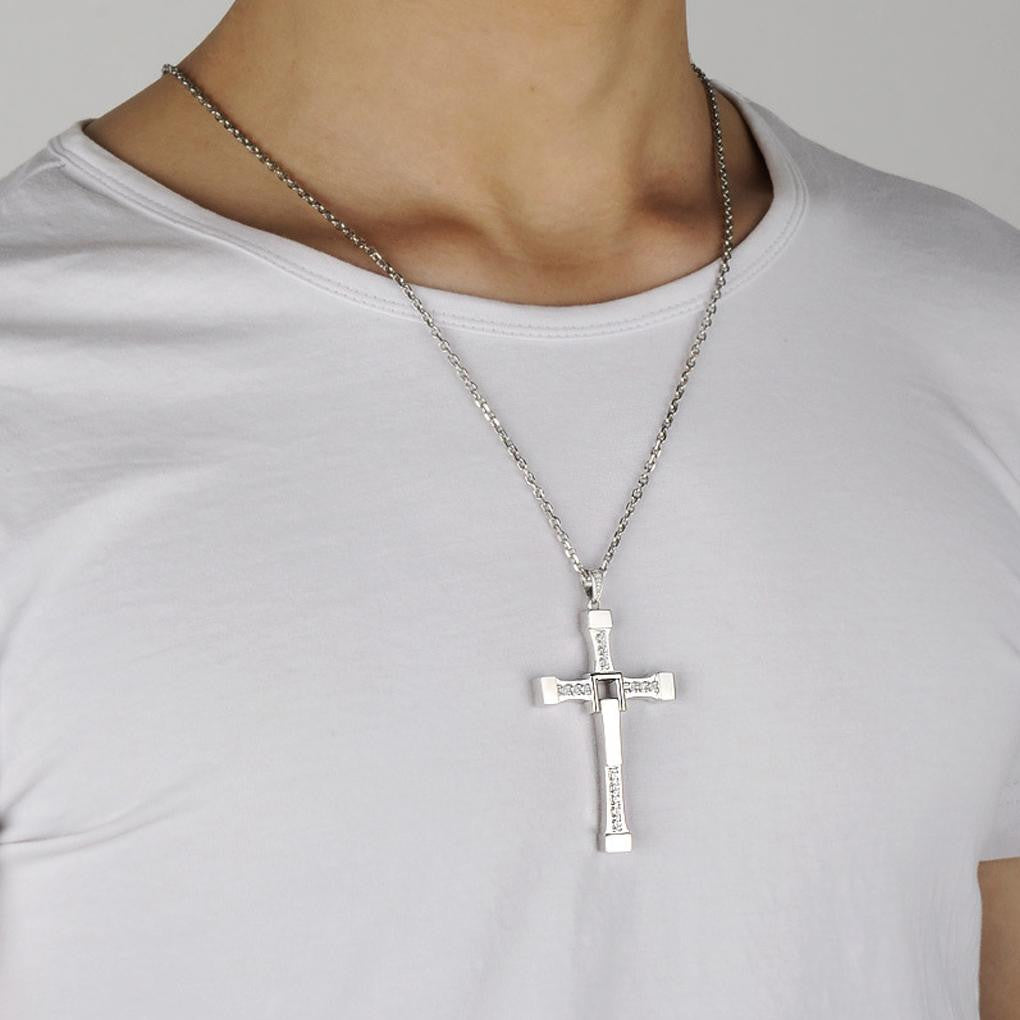 Pay 1 get 3 silver cross jesus pendant necklace for men women pay 1 get 3 silver cross jesus pendant necklace for men women freedom aloadofball Images