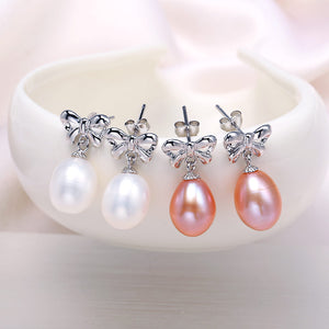 Beautiful Pearl Style Earrings - Freedom Look