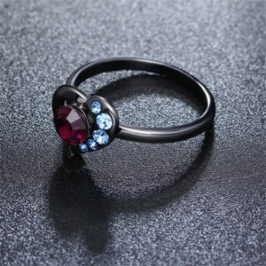 Red Heart Ring for Women in Style - Freedom Look