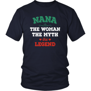 Nana The Woman The Myth The Legend District Unisex Shirt