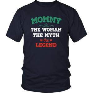 Mommy The Woman The Myth The Legend District Unisex Shirt