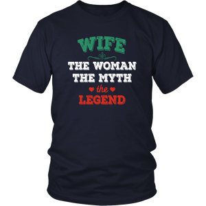 Wife The Woman The Myth The Legend Unisex Shirt