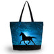 Soft Horse Shopping, Beach & Travel Bag - Freedom Look