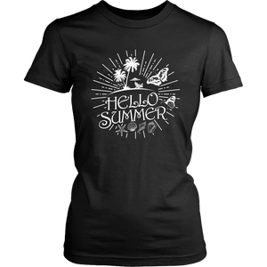 Hello Summer Party Holiday Travel Free Time Women & Unisex T-Shirt