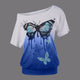 Butterfly Style Top T-Shirt - Freedom Look
