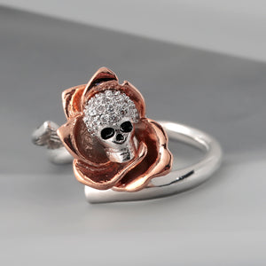 Unique Skull Ring - Freedom Look