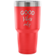 Good Vibes Only Motivational Inspirational 30 oz Vacuum Tumbler - Freedom Look