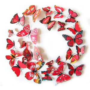 3D Magnet Butterflies Decoration - Freedom Look