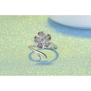 Lovely Flower Style Ring - Adjustable - Freedom Look