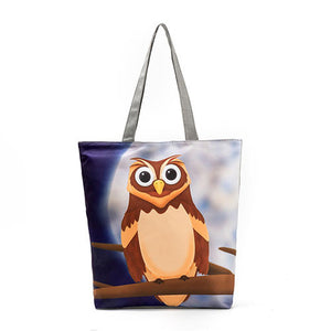 Lovely Owl Shopping Bags - Freedom Look