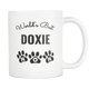 Doxie Mom Coffee Mug - World's Best Doxie Mom - Great Gift For Doxie Owner - Freedom Look