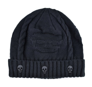 Cool Skull Beanie Hat - Freedom Look