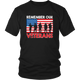 American Flag US Army Military Remember Veteran Dad And Mom Unisex T-Shirt