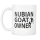 Nubian Goats Owner Gifts - Nubian Goat Coffee Mug - I Like & Love My Goats - Lucky Goat Coffee Cup - Great Goat Gift For Men And Women (11 oz)