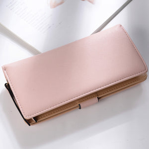 Beautfiful Leaf Leather Wallet - Freedom Look