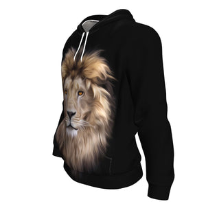 Lion Head All Over Hoodie