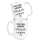 The One Where Michelle Turns 75 Coffee Mug, 75th Birthday Mug, 75 Years Old Mug (15 oz)