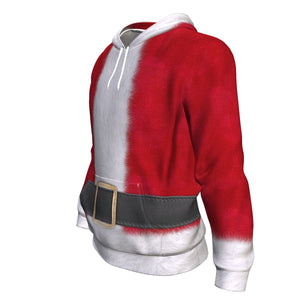 Santa Claus All Over Christmas Hoodie