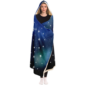 Details about  /Personalized Cancer Horoscope Zodiac Star Sign Hooded Blanket