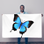Butterfly Sublimation Flag