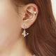 Butterfly earrings for woman in style - Freedom Look