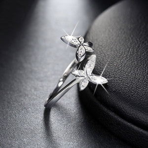 Butterfly Ring for Queens - 925 Sterling Silver - Freedom Look