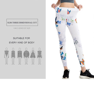 Butterfly Stretch Leggins - 2018 - Freedom Look